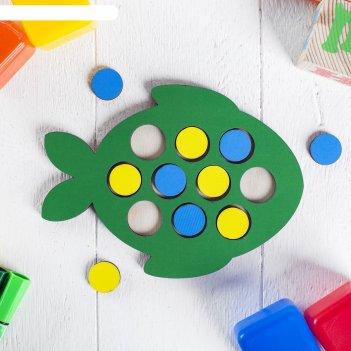 Мозаика рыбка  (головоломка)