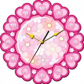 Часы настенные tiarella мир прекрасен