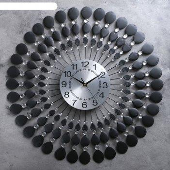 Часы настенные, серия: интерьер, стиль, d=70 см