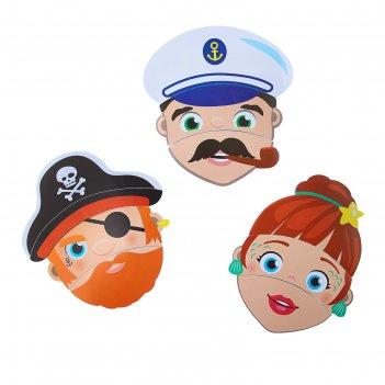 Набор игрушек для ванны «изучаем профессии»: пазлы из eva, 3 шт.