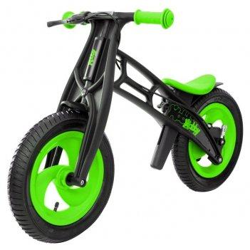 Велобалансир+беговел hobby-bike rt fly а черная оса plastic kiwi/black а-ш