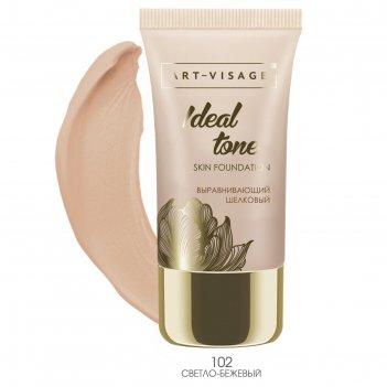 Тональный крем art-visage ideal tone, тон 102 светло-бежевый