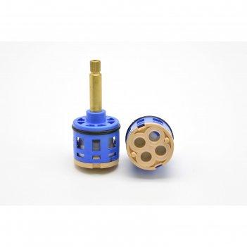 Картридж дивертора душ сити k4, для душевых кабин, d=35 мм, шток 40 мм, 4
