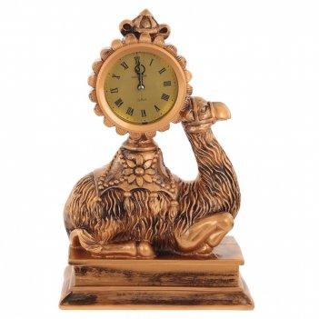Часы настольные декоративные верблюд, l24 w12 h35 см, (1хаа не прилаг.)