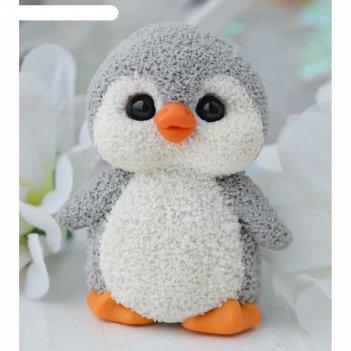 Силиконовая форма для мыла пингвиненок милый