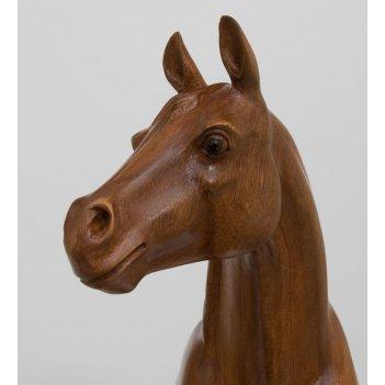 18-002 фигура лошадь пони кетот 45см о.бали
