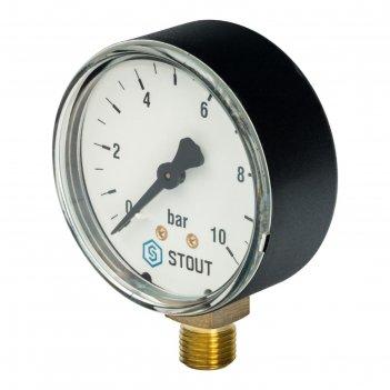 Манометр stout sim-0010-631008, радиальный, dn63, g1/4
