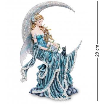 Ga-144 статуэтка девушка и луна