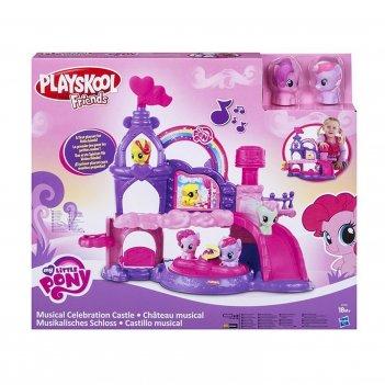"""Игровой набор """"музыкальный замок"""" my little pony"""