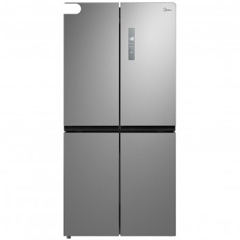 Холодильник midea mrc518sfnx, класс а+, side by side, 469 л,  full no fros