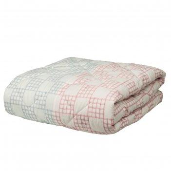 Одеяло chalet climat control, размер 195х215 см, тик, цвет роза/грозовой