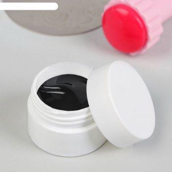 Гель для стемпинга, трёхфазный, led/uv, 5 гр, цвет чёрный