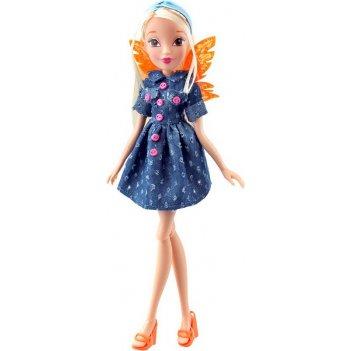 Кукла winx club стильная штучка, стелла