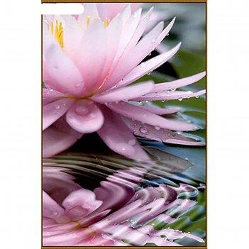 Алмазная мозаика священный цветок, 28 цветов