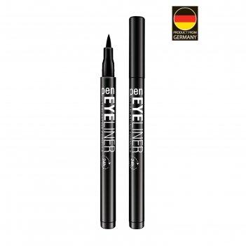 Карандаш-подводка для глаз demini eyeliner pen, водостойкая, чёрная, 2 г