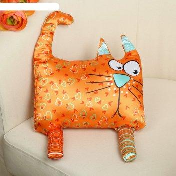 Мягкая игрушка котофеич, оранжевый