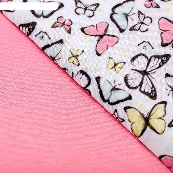 Набор ткани пэчворк ,весна,  50 х 50 см