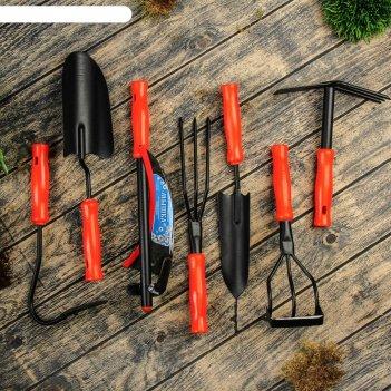 Набор садового инструмента, 7 предметов дачник