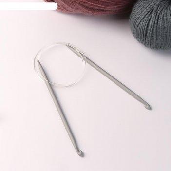 Крючок для вязания, циркулярный, d = 5,5 мм, 80 см
