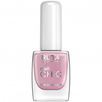 Лак для ногтей ruta nail chic, тон 09, кашемир