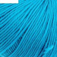 Пряжа люкс 100% мериносовая шерсть 200м/50гр (0474, голубая бирюза)