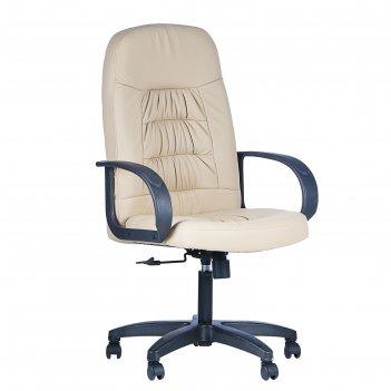 Кресло мк-011, экокожа, бежевый