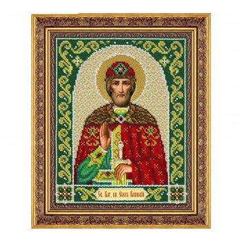 Набор для вышивки бисером «святой благоверный князь олег брянский»