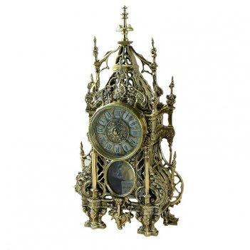 Часы кафедрал c маятником, золото