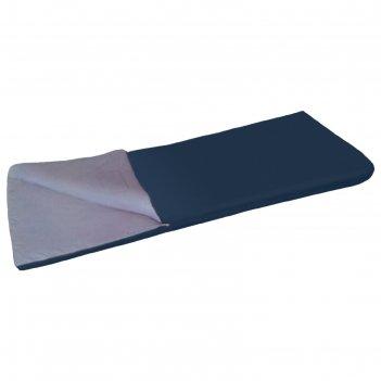 Спальный мешок scout plus, до +15с, 0,95 кг, 75смх185см