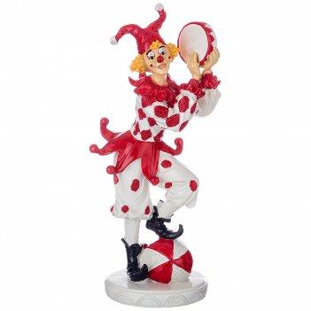 Фигурка клоун 8,5*8,5*22,5 см.