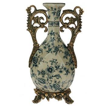 Ваза декоративная, керамика 20*11*34см