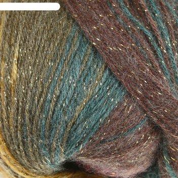 Пряжа angora gold simli batik  20% шерсть,75% акрил, 5% металлик  500м/100