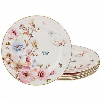 Набор десертных тарелок онфлёр из 6 шт. диаметр=19см. (кор=12наб.)