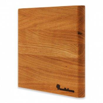 Подставка под горячее hs004on, размер: 19 х 19 х 2,5 см, материал: дерево