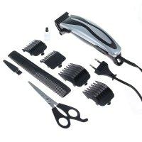 Машинка для стрижки волос zimber zm-10037, 4 насадки
