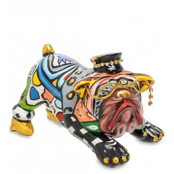 Tg-3529 статуэтка собака малыш эвальд (томас хоффман)