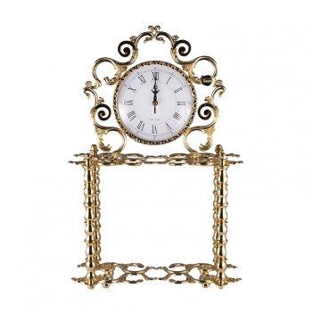 Часы настольные золотые розаперла 50x30см.