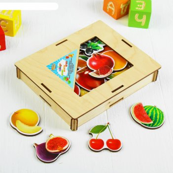 Обучающий набор овощи, фрукты, ягоды