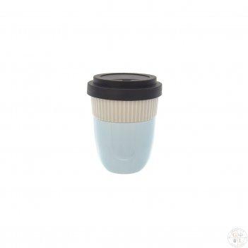 Чашка coffee to go. lifestyle bellevue 200 ml  (голубой/серый)