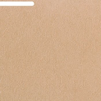Простыня махровая на резинке, 80х200х20, цвет бежевый, 160 гр/м2