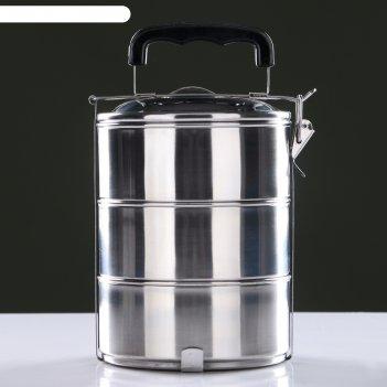 Ланч-бокс альструп, 2.58 л, 14х17х24 см
