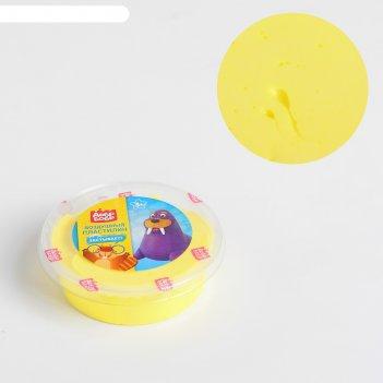 Воздушный пластилин «добрбобр», желтый, 50 мл вп050-2