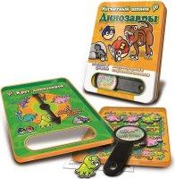 Магнитная игра mack&zack динозавры