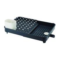 Сушилка для посуды раздвижная extend, материал: пластик, нержавеющая сталь