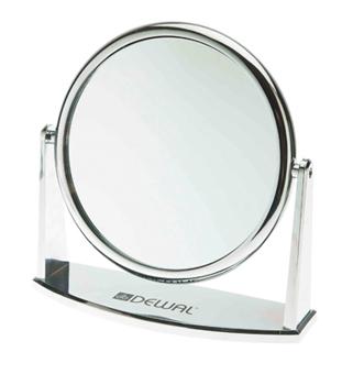 Зеркало настольное dewal на подставке размер 188х62х185мм