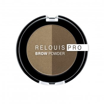 Тени для бровей relouis brow powder, тон №01 blonde