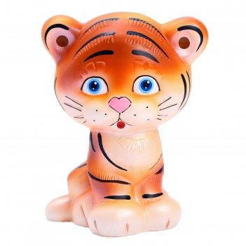 Резиновая игрушка тигр