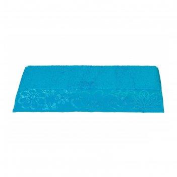 Полотенце dora, размер 30 x 50, бирюзовый