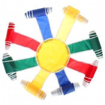 Спортивная игра «солнышко», диаметр 5 м, цвета микс