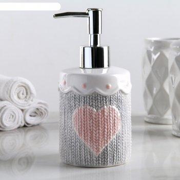 Дозатор для жидкого мыла теплота